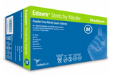 Esteem® Stretchy Nitrile III Examination Gloves – Fingertip Textured