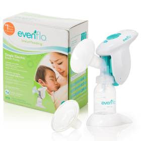 Evenflo® Single Electric Breast Pump Kit - 5152211 - Medsitis