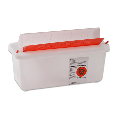 In-Room™ Sharps Containers with Mailbox-Style Lid