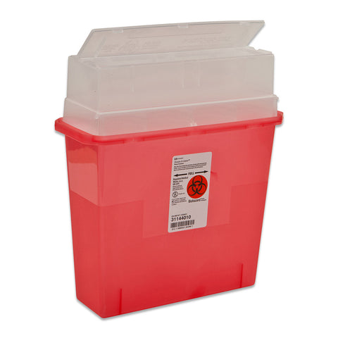 In-Room™ Sharps Containers with Tortuous Path Lid