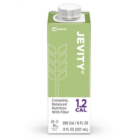 JEVITY® 1.2 CAL Unflavored Liquid w/ Fiber & High-Protein 8 oz. - 64625