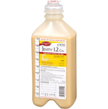 JEVITY® 1.5 CAL Unflavored Calorically Dense Liquid with Fiber 1,500 mL Bag - 62689