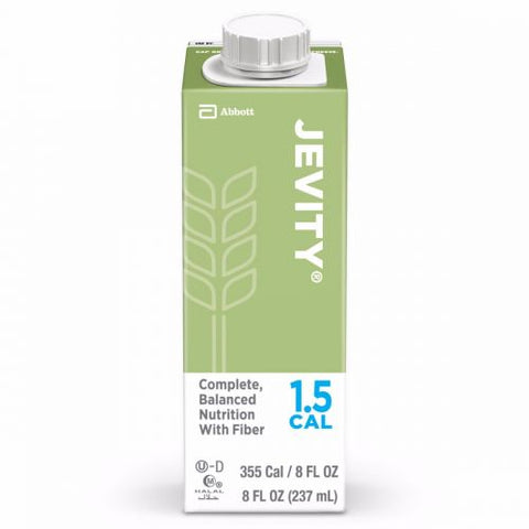 JEVITY® 1.5 CAL Unflavored Calorically Dense Liquid with Fiber - Medsitis
