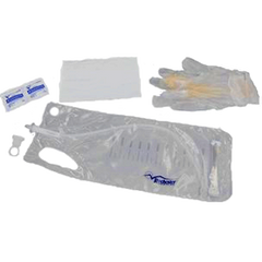 MAGIC³® Male Antibacterial Hydrophilic Intermittent Catheter Kit w/ SURE-GRIP™ - Medsitis