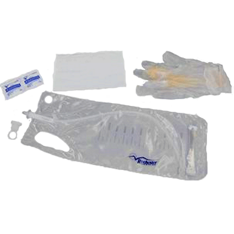 MAGIC3® Intermittent Closed System Catheter Kit w/ PVP Towelettes