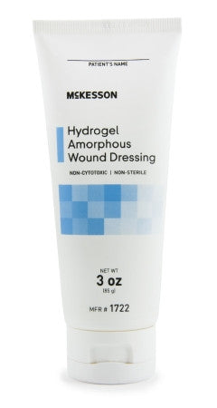 McKesson Amorphous Dressing Hydrogel 3 oz - 1722
