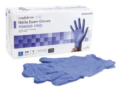 Confiderm® 3.5C Chemo-Rated Nitrile PF Exam Gloves L - 14-6978C