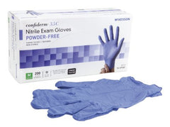 Confiderm® 3.5C Chemo-Rated Nitrile PF Exam Gloves M - 14-6976C