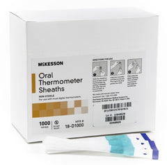 McKesson Digital Oral Thermometer Sheaths