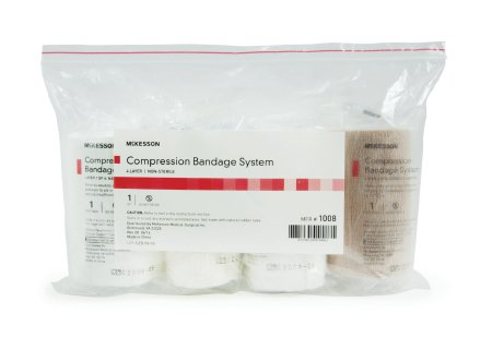McKesson 4-Layer Compression Bandage System - 1008