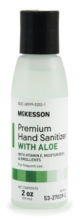 McKesson Premium Hand Sanitizer with Aloe