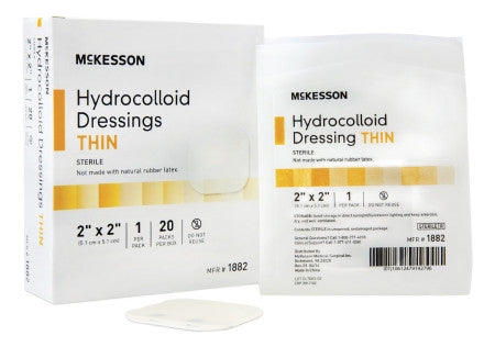 McKesson Hydrocolloid Thin Dressing Sterile