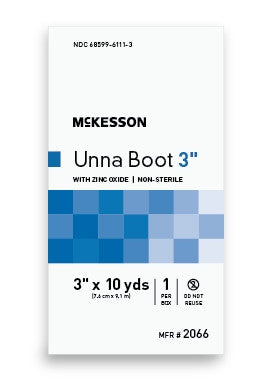 McKesson Unna Boot Cotton Zinc Oxide