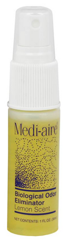 Medi-Aire® Biological Odor Neutralizer Lemon Scent 1 oz. Spray Bottle - 7000L