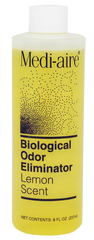Medi-Aire® Biological Odor Neutralizer Lemon Scent 8 oz. Refill Bottle - 7008L - Medsitis