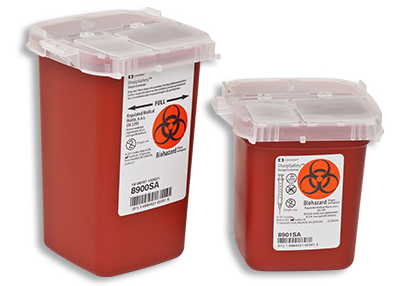 SharpSafety™ Phlebotomy Sharps Container