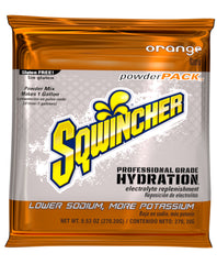 Sqwincher 1 Gallon Electrolyte Powder Pack Drink Mix Orange - X381-MC600