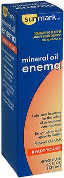 SunMark® Complete Ready-to-Use Mineral Oil Enema 4.5 oz. - 3497088