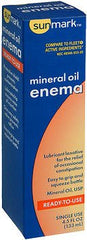 SunMark® Complete Ready-to-Use Mineral Oil Enema 4.5 oz. - 3497088 - Medsitis