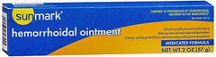 SunMark® Hemorrhoidal Ointment Medicated Formula 2 oz. Tube (Case of 12) - 3509833