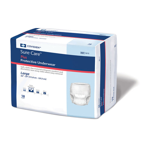 Sure Care™ Plus Adult Super-Absorbent Protective Underwear