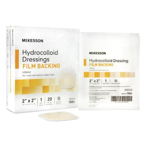 McKesson Hydrocolloid Film Back Dressing Sterile - Medsitis