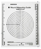 Wound Measuring Guide - Circular Grid - 533-30012100 - Medsitis