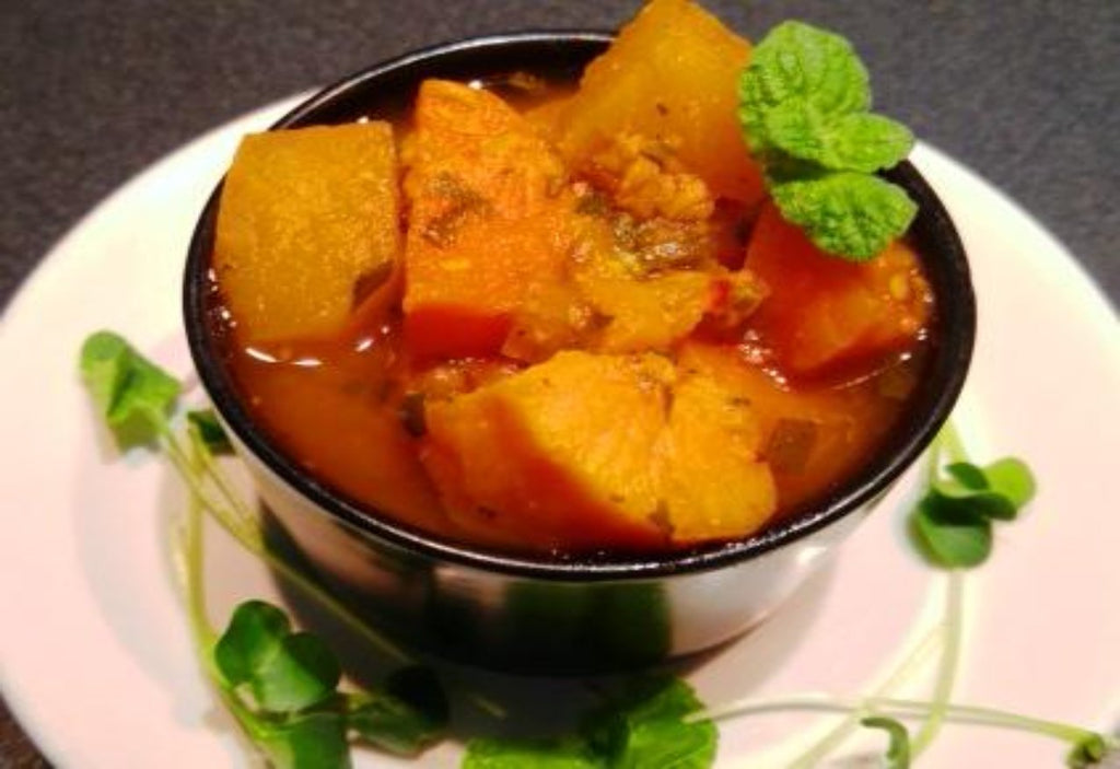 Moroccan Root Vegetable Tagine