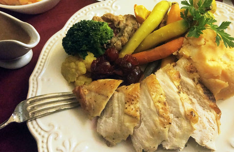 Roasted Semi-Boneless Turkey Dinner Kit