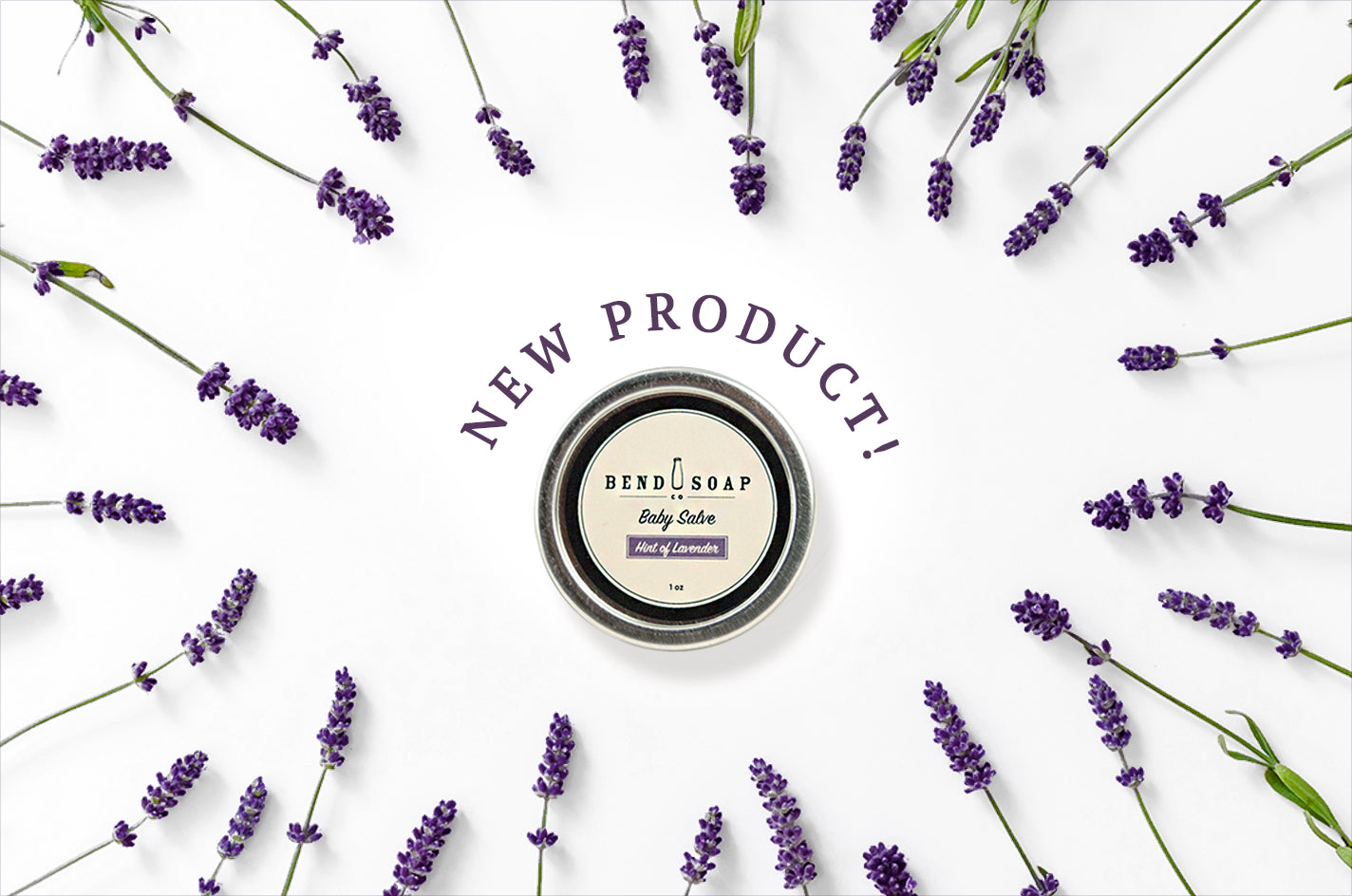 New Product Announcement: All-Natural Baby Salve