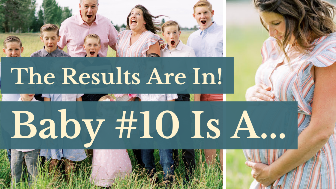The Results Are In! Baby #10 Is A…