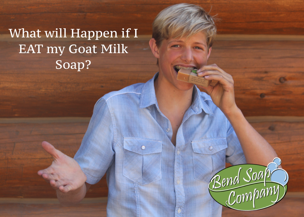 What Will Happen If I Eat My Goat Milk Soap?