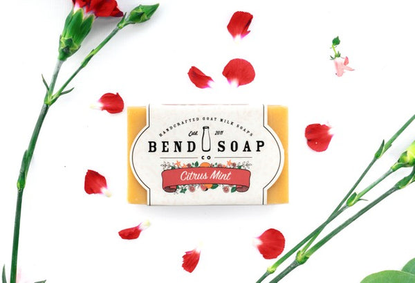 Citrus Mint Goat Milk Soap - Bend Soap Company
