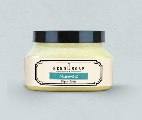 Natural Unscented Sugar Scrub from Bend Soap Company