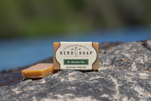 Mount Bachelor Pine Goat Milk Soap - Bend Soap Company