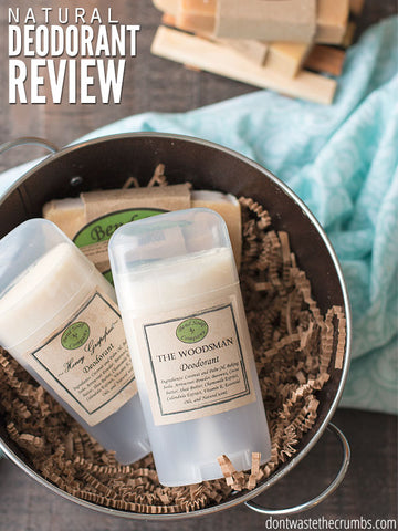 BEND SOAP COMPANY NATURAL DEODORANT REVIEW - Don't Waste the Crumbs