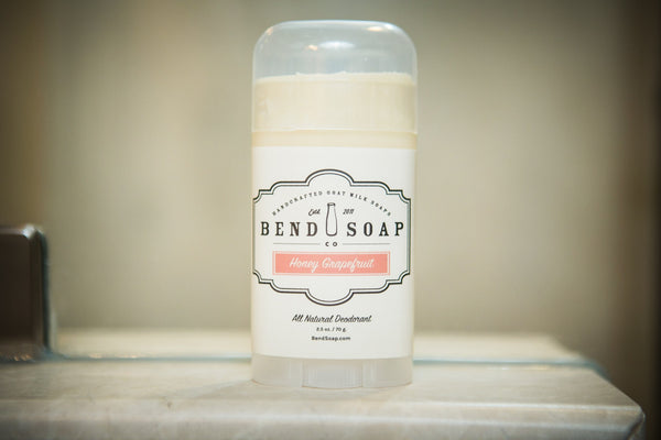 Natural Deodorant - Bend Soap Company