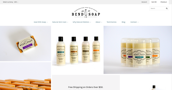 Bend Soap Company's New Look