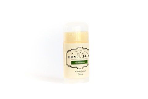 The Woodsman - Natural Deodorant from Bend Soap Company