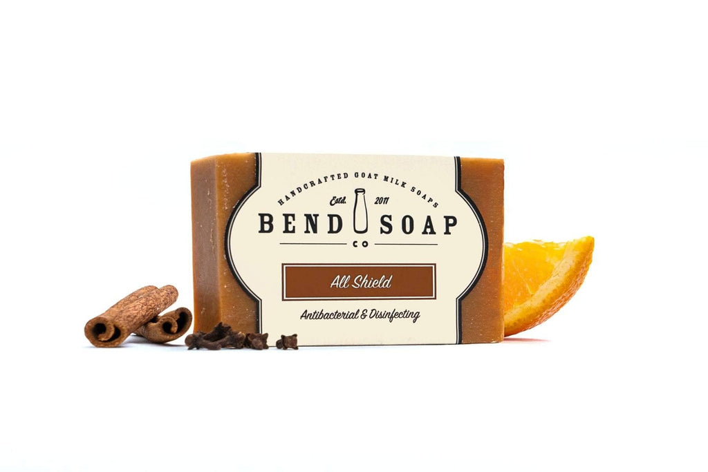 Full Size Bar of Goat Milk Soap All Shield