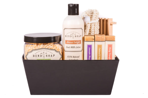 The Essential Gift Basket - Bend Soap Company