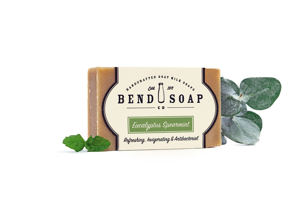 Full Size Eucalyptus Spearmint Bar of Goat Milk Soap