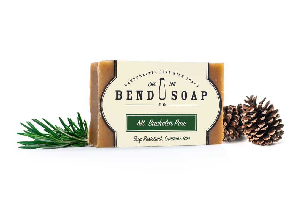 Mt. Bachelor Pine Goat Milk Soap Full