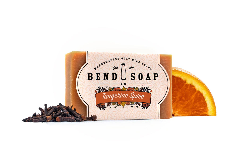 Limited Edition Fall Tangerine Spice Goat Milk Soap