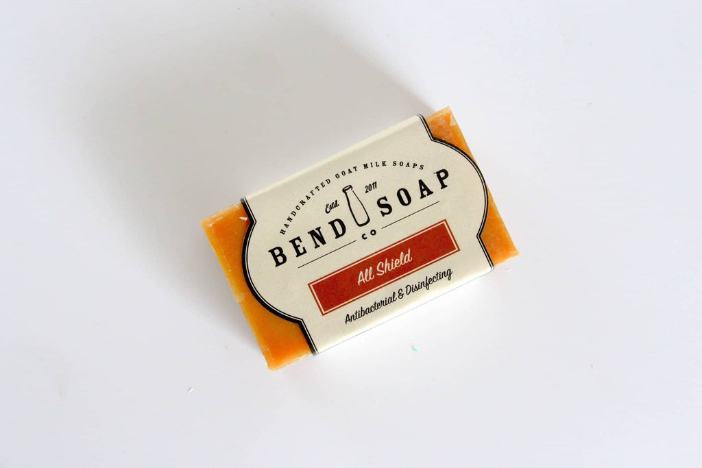All Shield Goat Milk Soap - Bend Soap Company