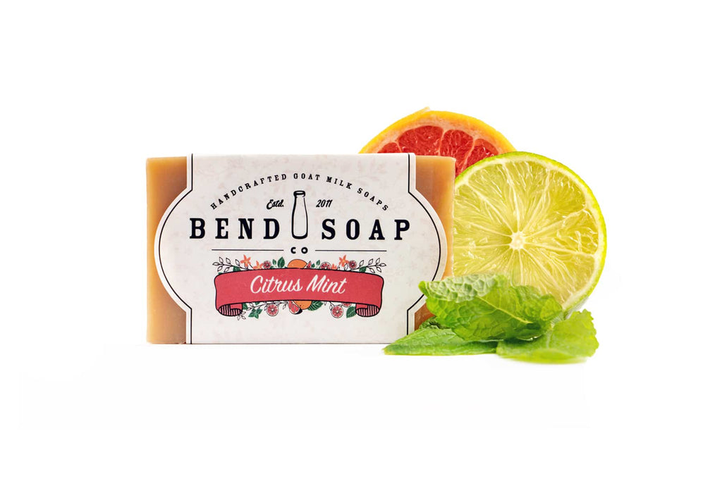 Citrus Mint Goat Milk Soap