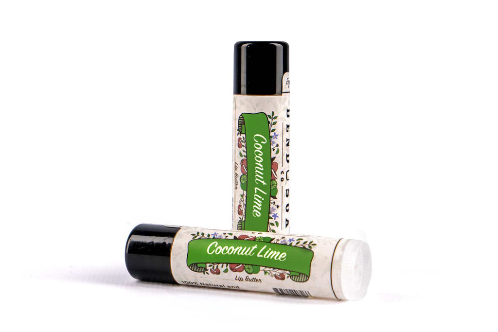 Coconut Lime Lip Butter
