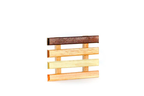 Natural Wood Soap Rack
