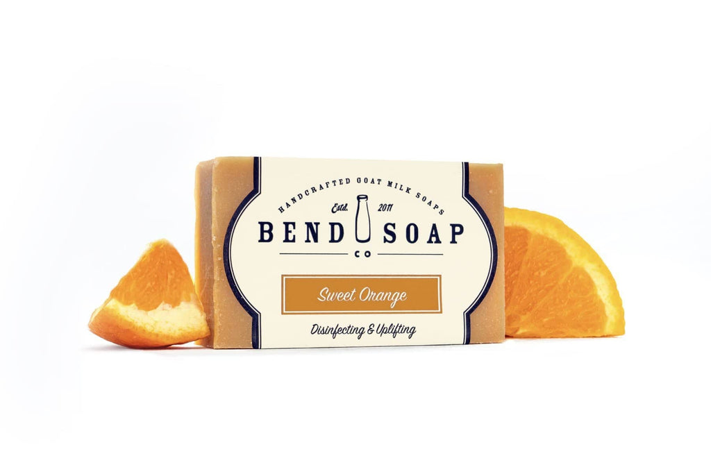 Full Size Bar of Sweet Orange Goat Milk Soap
