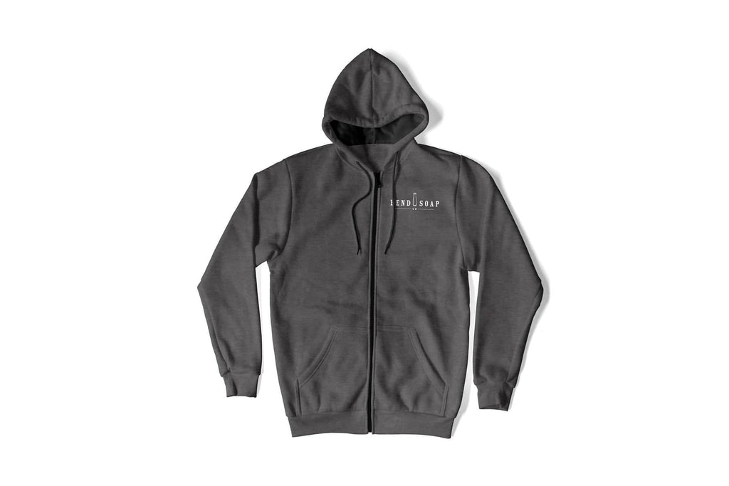 Bend Soap Co. Unisex Zip-Up Hoodie